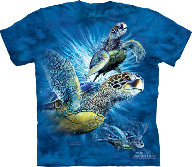 find 9 sea turtles t shirt